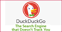 DuckDuckGo The search engine that doesn't track you.