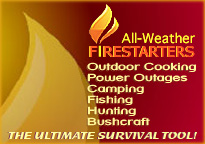All Weather Firestarters ultimate survival tool